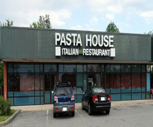 Dinner at the Pasta House